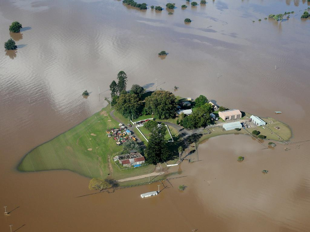 The floods devastated parts of NSW. Picture: NCA NewsWire / Dylan Coker
