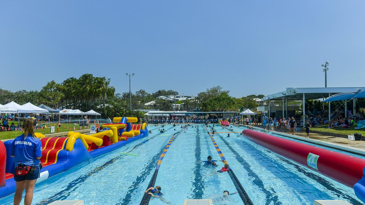 Upgrades to the play park and filtration plant is now underway. Picture: The BSL staff Christmas party, held at Gladstone Aquatic Centre on 24 November 2018.