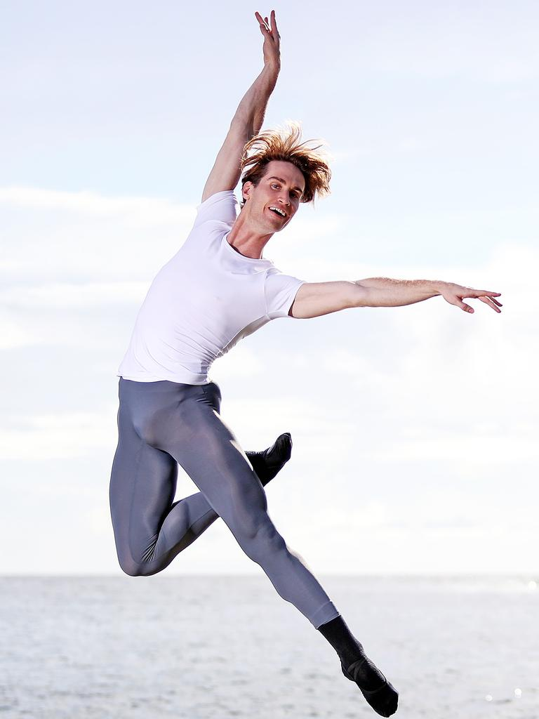 Nathan Brook is a soloist with The Australian Ballet. Picture: Tim Hunter.