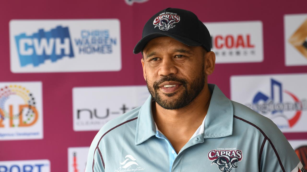 David Faiumu has been with the CQ Capras for three years, the past two as head coach.