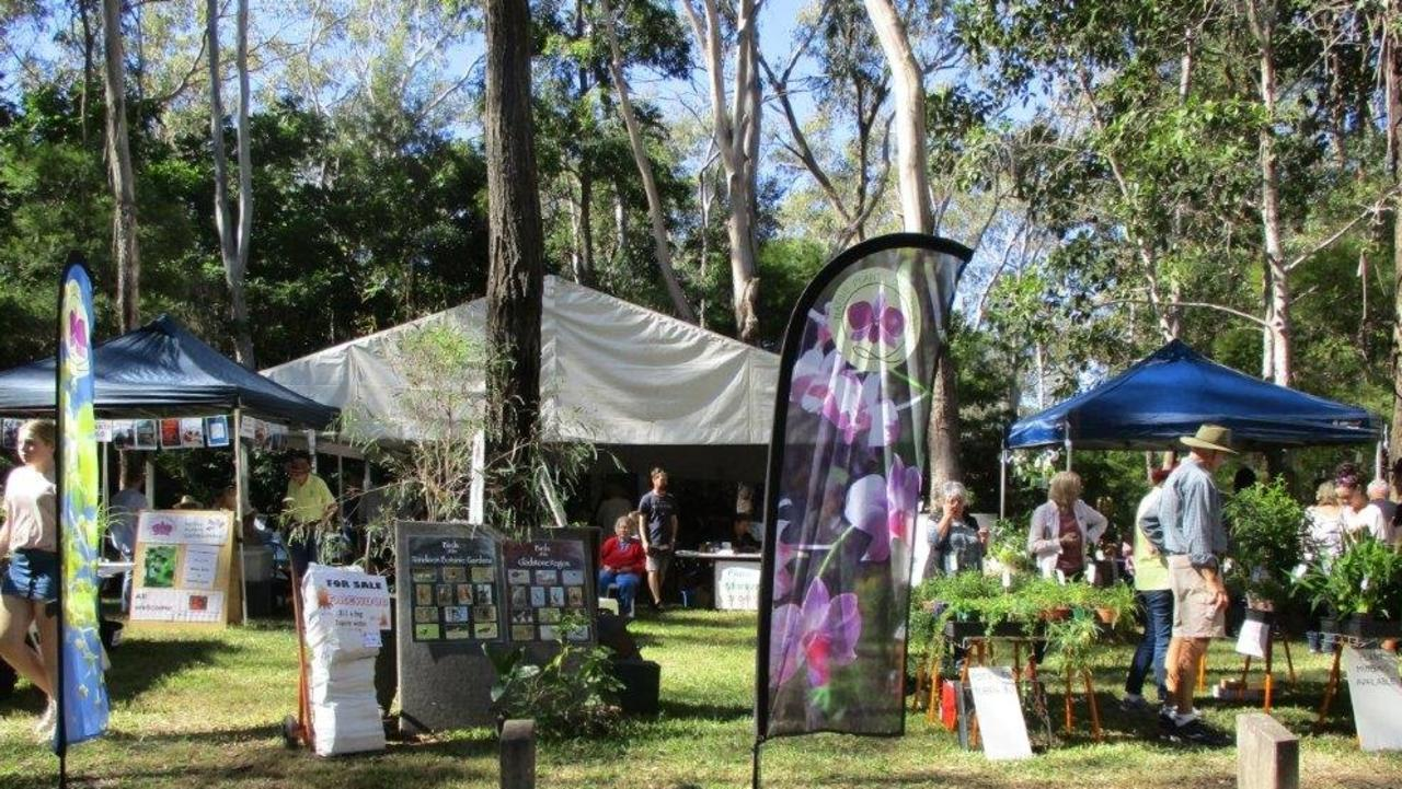 Many plant and gardening stalls in attendance at Ecofest in previous years.