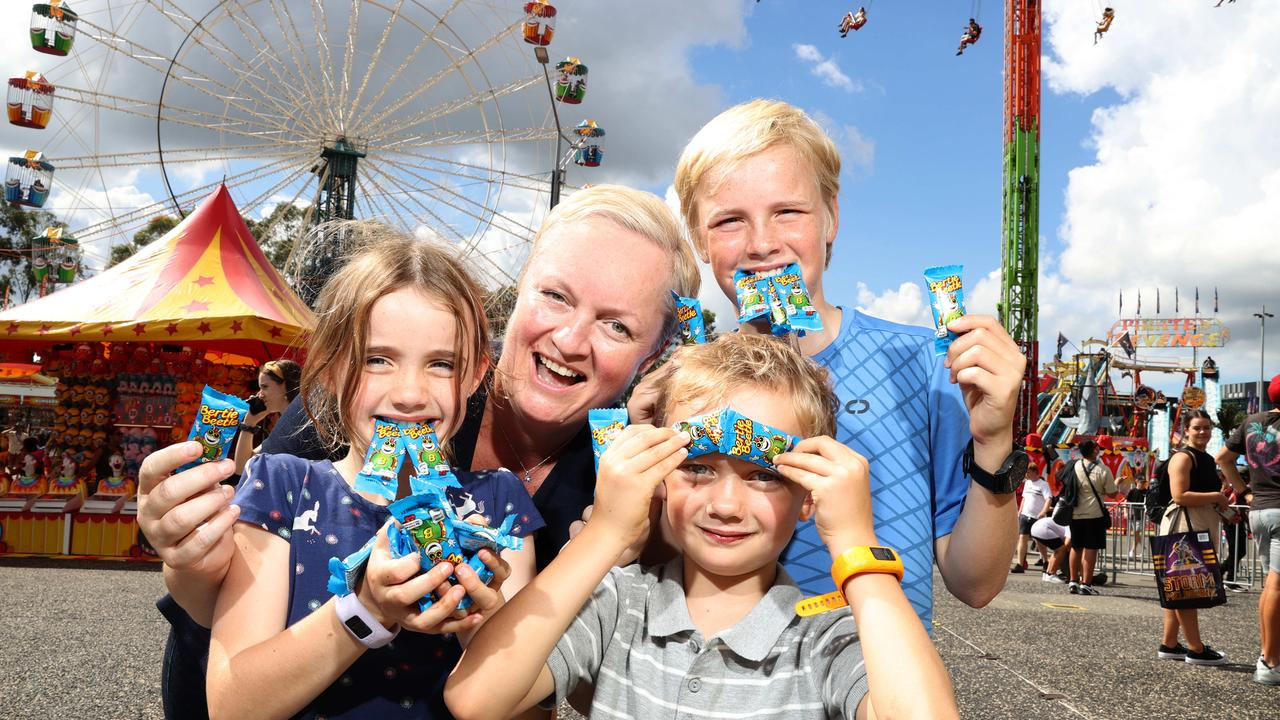 Their mum Joceline Branson hadn't had a Bertie Beetle for 30 years. Picture: NCA NewsWire / Dylan Coker