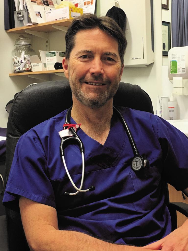 Sunshine Coast Local Medical Association president Dr Roger Faint.