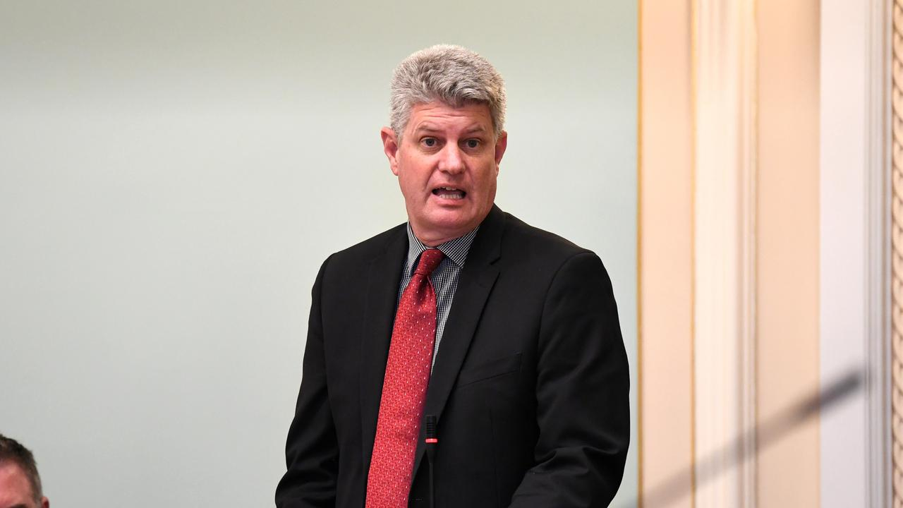 Queensland Tourism Minister Stirling Hinchliffe. Picture: Dan Peled (NCA NewsWire)