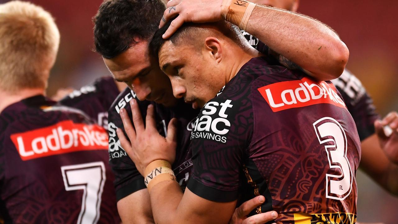 NRL 2021: Kotoni Staggs tells Broncos teammates he is staying in Brisbane