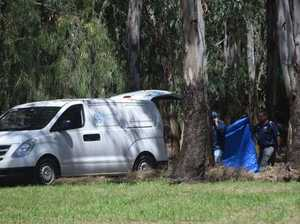 Human remains uncovered at excavated crime scene