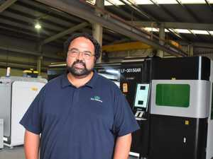 Business opens with state of the art laser cutting machine