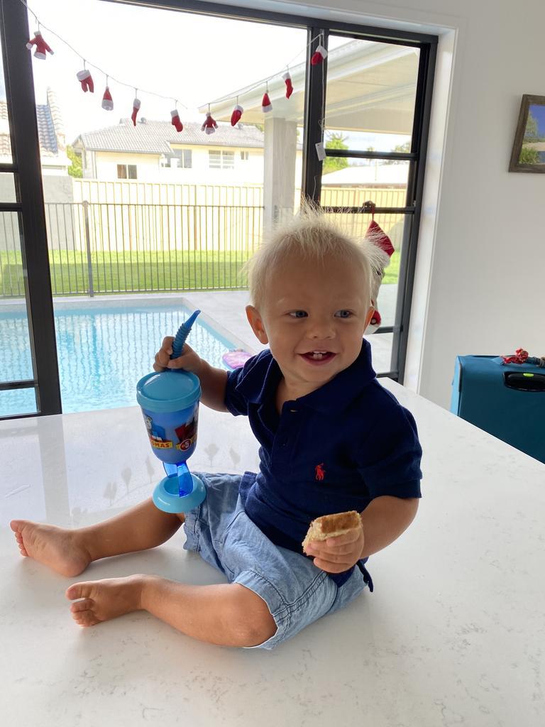 Max Robinson is battling acute lymphoblastic leukaemia after a shock diagnosis two weeks ago.