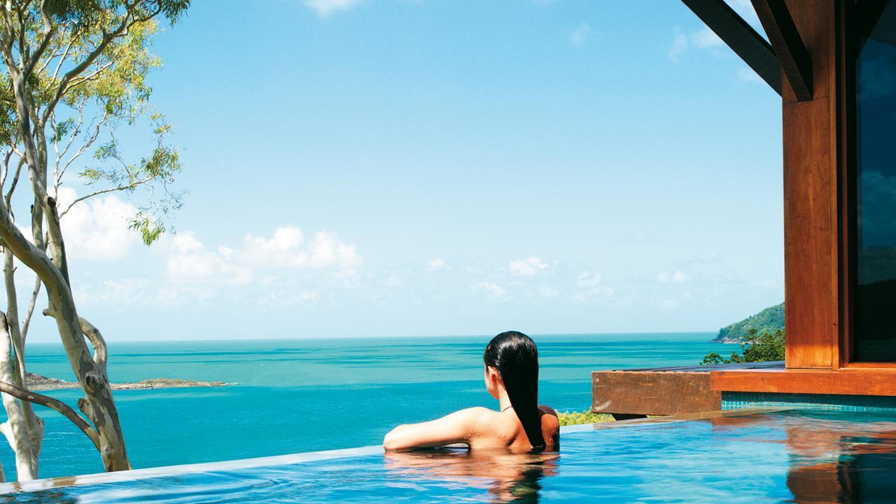 The luxurious Qualia accommodation on Hamilton Island. Supplied