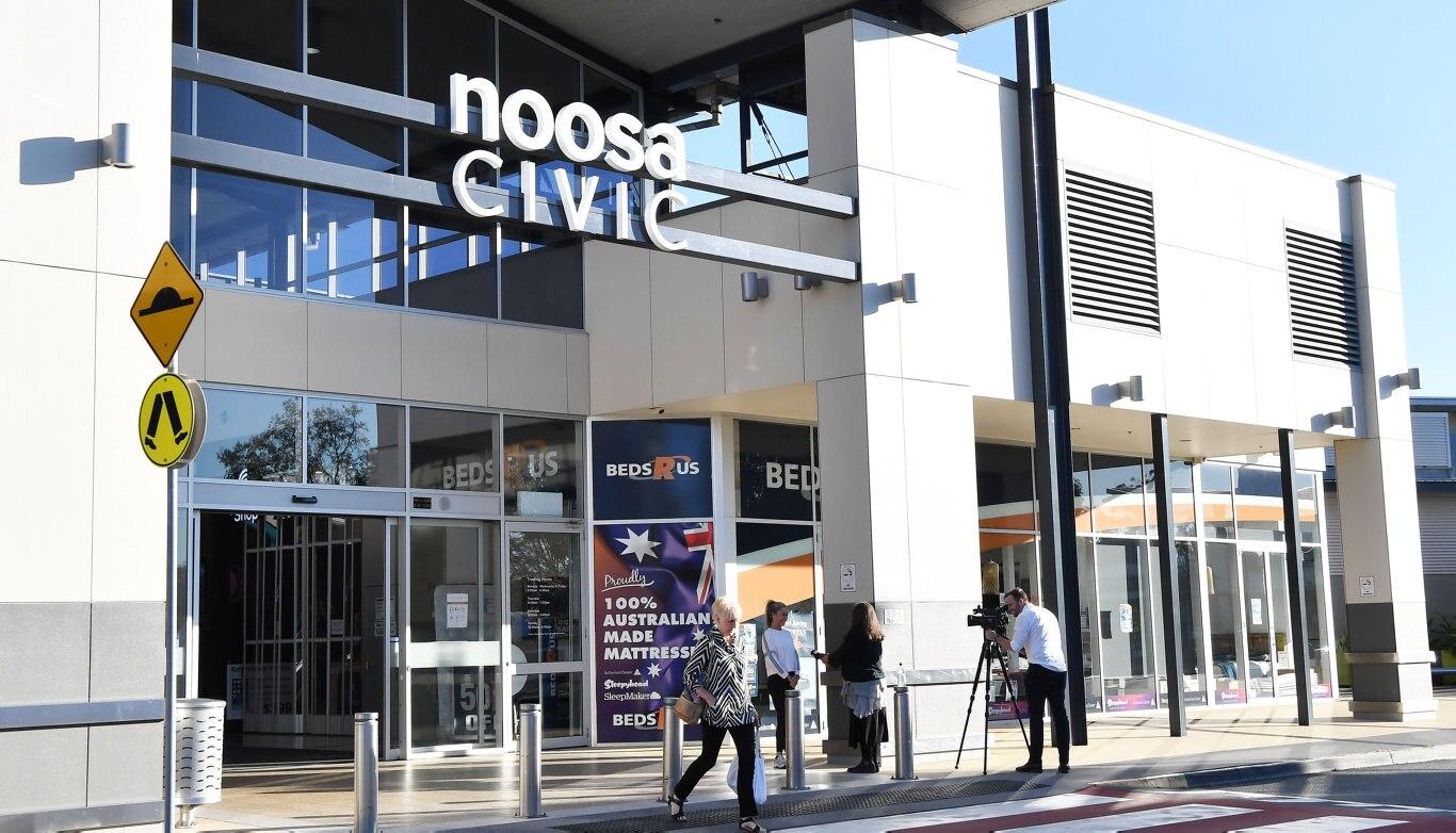 Noosa Civic Shopping Centre. Photo Patrick Woods / Sunshine Coast Daily.