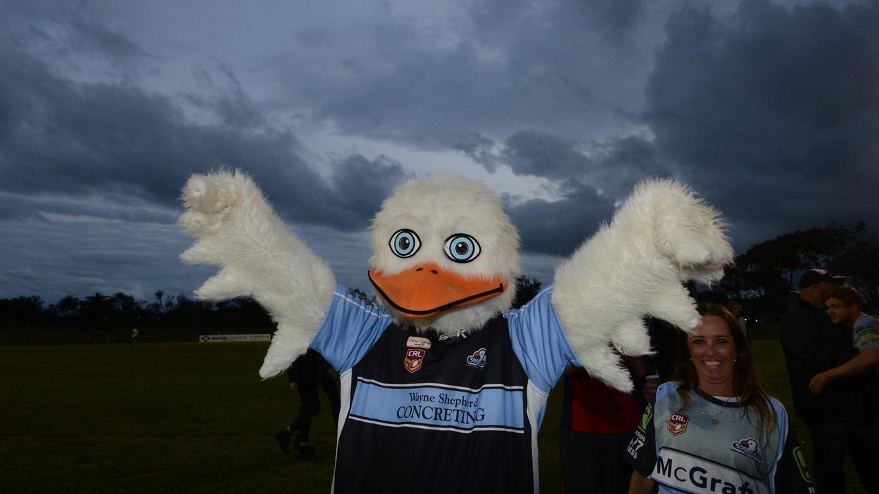 Ballina seagulls mascot. Photo Cathy Adams / The Northern Star