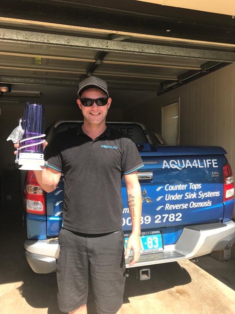 Aqua 4 Life owner David Athorn.
