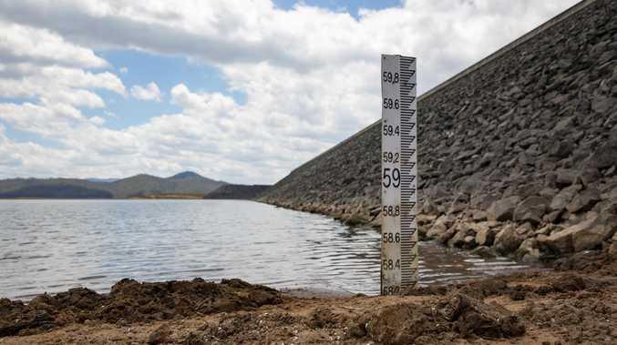 Wivenhoe Dam still thirsty amid slight top-up
