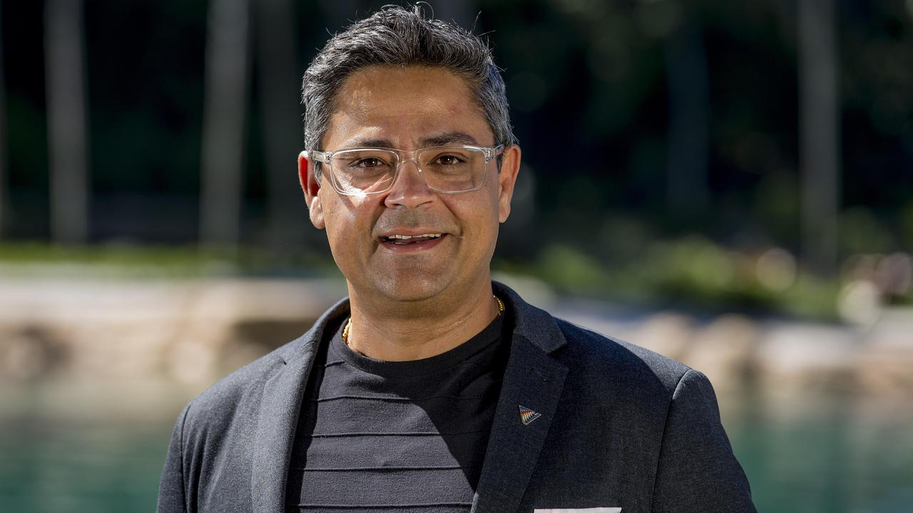 Chief Operating Officer Village Roadshow Theme Parks, Bikash Randhawa, at SeaWorld, Main Beach. For story on planned protests which are to occurred out the front of Sea World on Saturday. Picture: Jerad Williams.