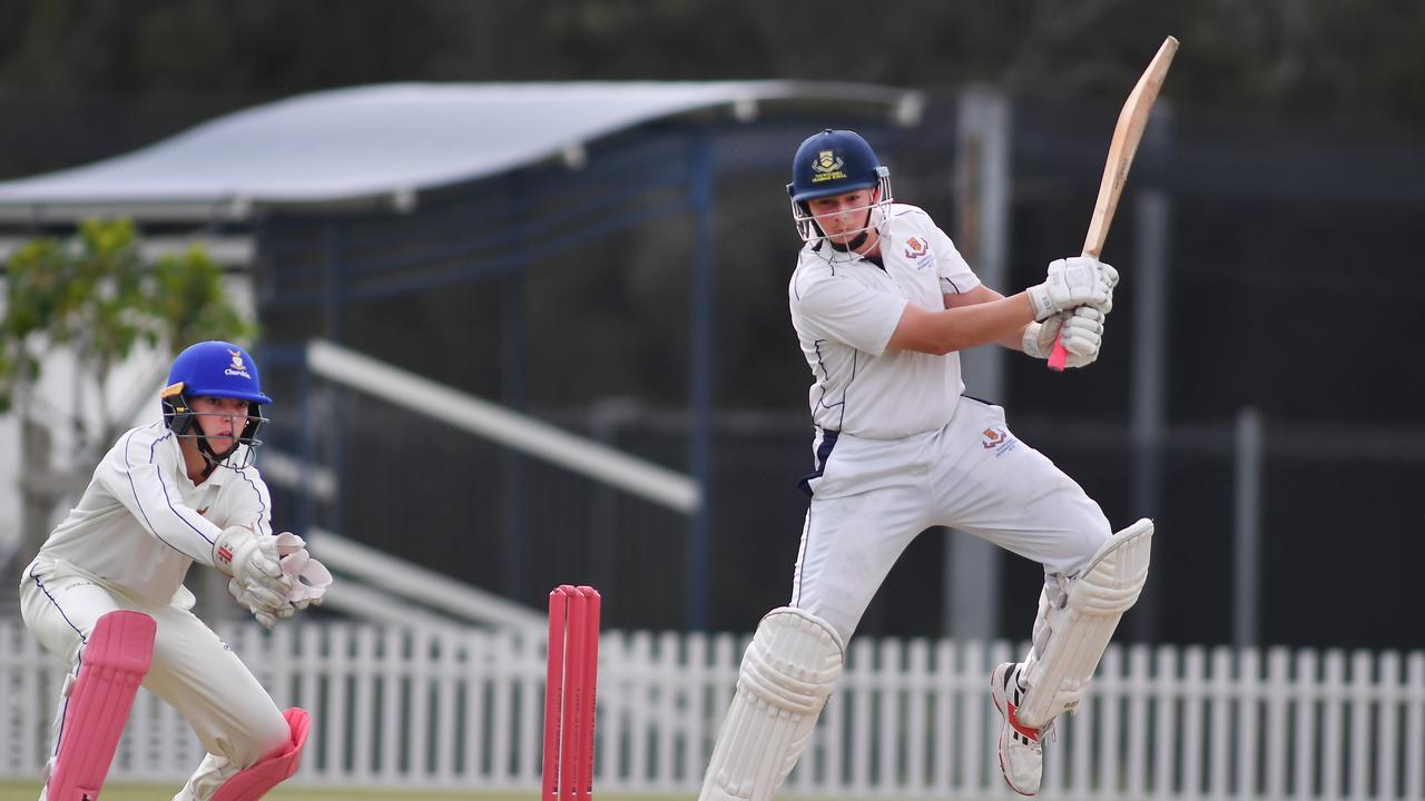 Toowoomba Grammar School batsman Rex Tooley. Picture, John Gass