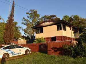 WATCH: Teen burned as kitchen fire destroys home
