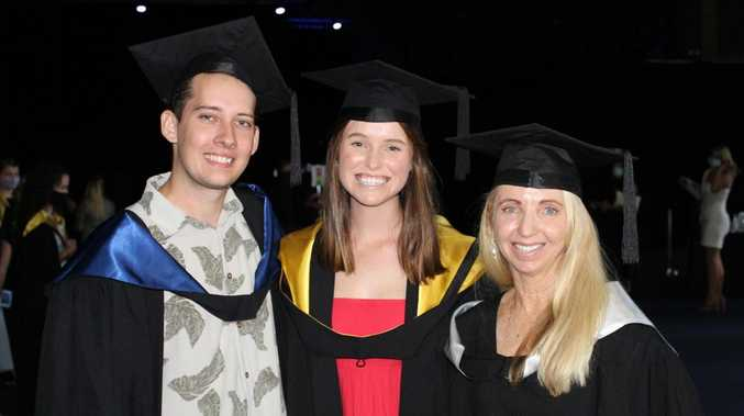 Uni degree a family affair for Coast quartet