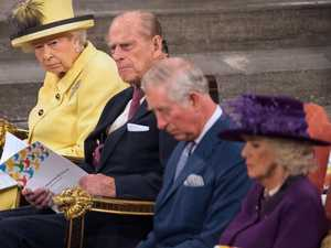 Charles' grief as Philip dies on son's wedding anniversary