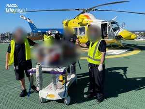 UPDATE: Motorcyclist flown to hospital after Tiaro crash