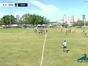 REPLAY: Qld King of Country Rugby Championships - Surfers Paradise Dolphins vs Maroochydore Swans (U14's)