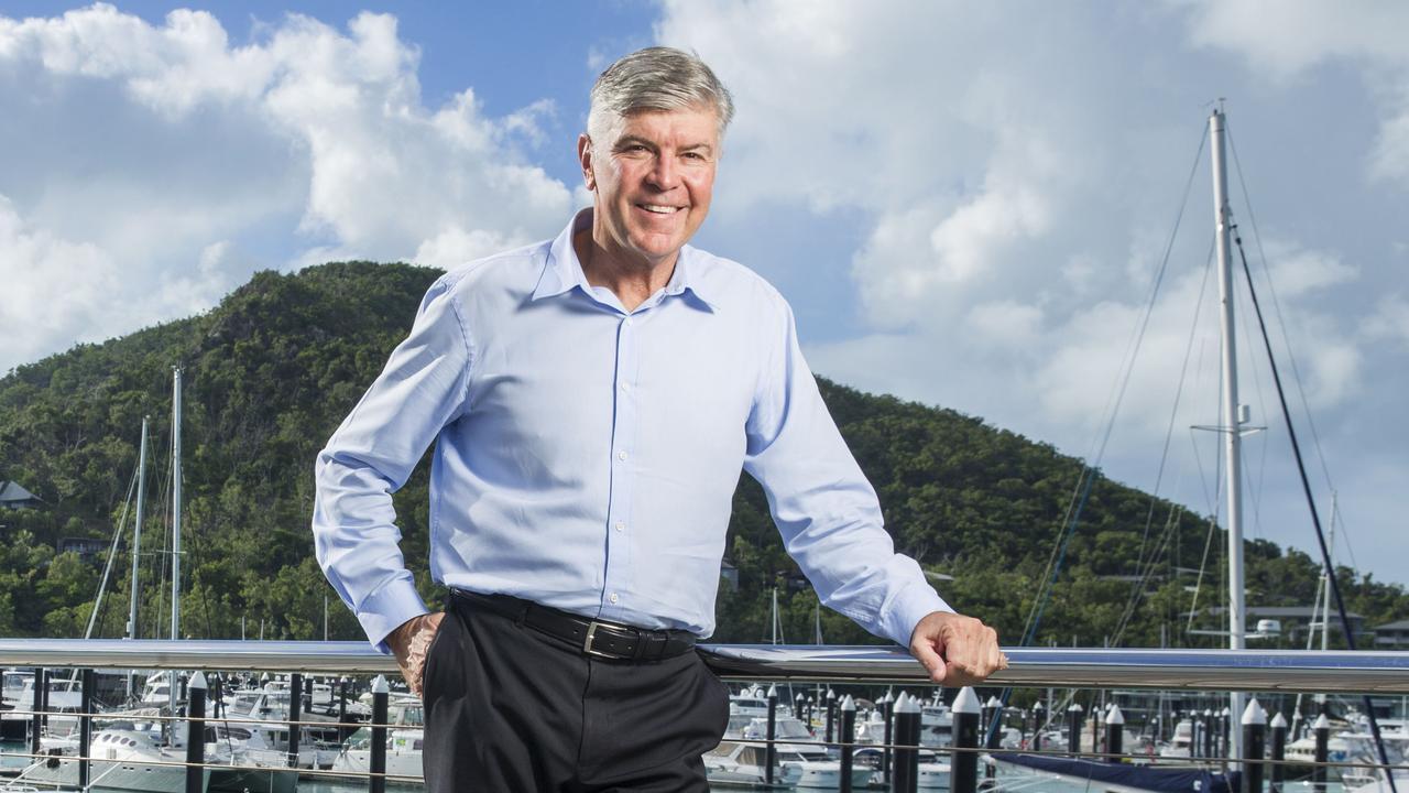 Hamilton Island CEO Glenn Bourke. Picture: Lachie Millard