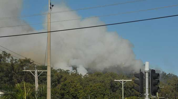 Smoke warning issued for Gladstone from forest burns