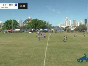 REPLAY: Qld King of Country Championships - USQ Saints vs Far North Coast (U14's Grand Final)