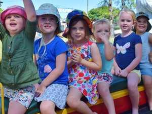 PHOTOS: Chinchilla Museum's Mini Train family fun day