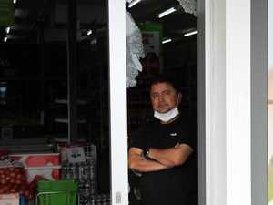 Devastating smash and grab at popular Gladstone business