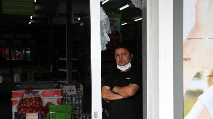 Devastating smash and grab at popular Gladstone business