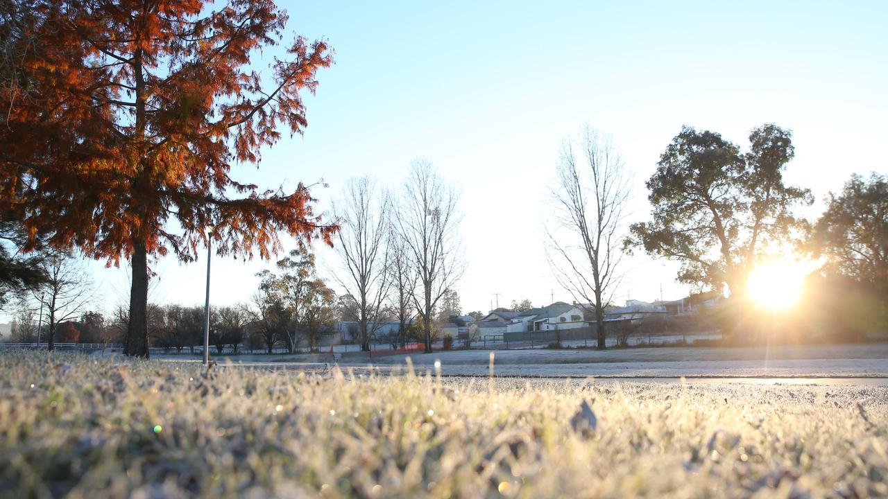 Frost is expected across parts of southern Queensland tomorrow. Picture: Peter Wallis