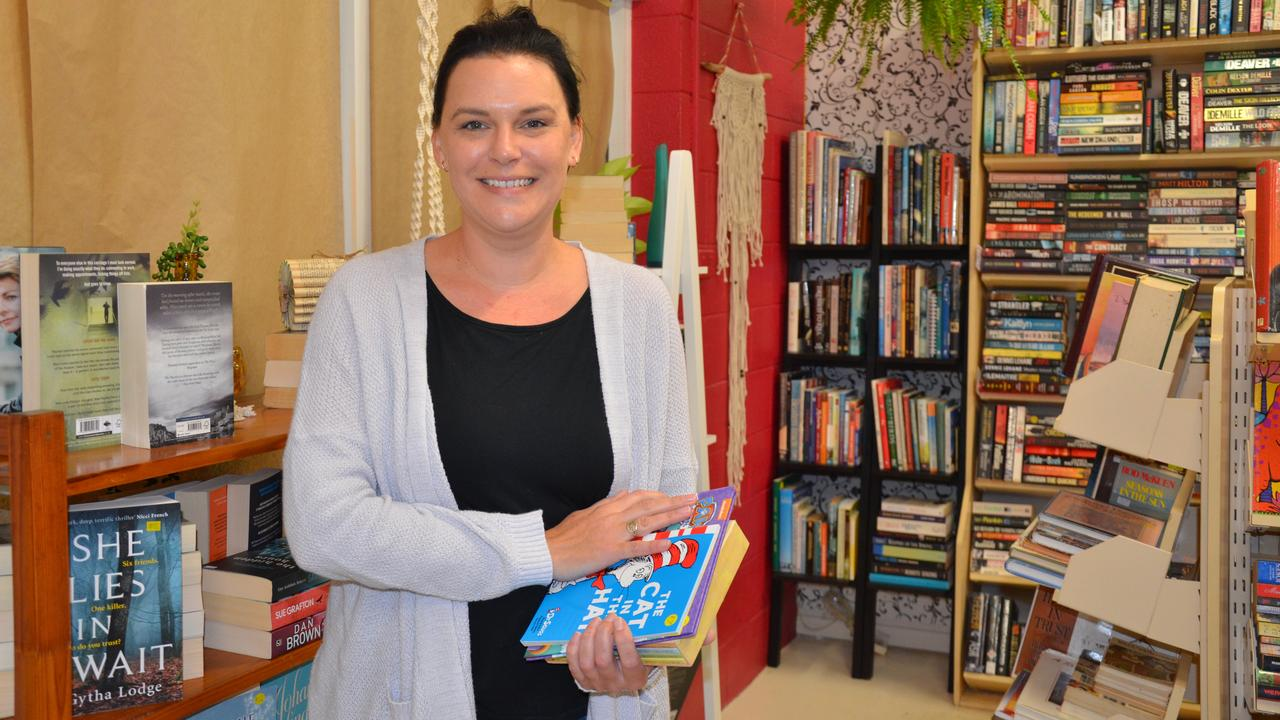 Bargara Book Boutique owner Tunja Cottier is celebrating one year in business with an exclusive shopping event.