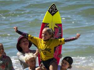 Far North Coast groms take out top spot at surfing comp