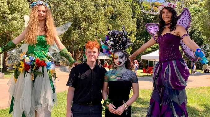 GALLERY: Imaginations go wild at popular body art festival