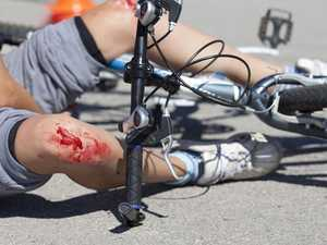 Paramedics on scene as rider injured in bicycle accident