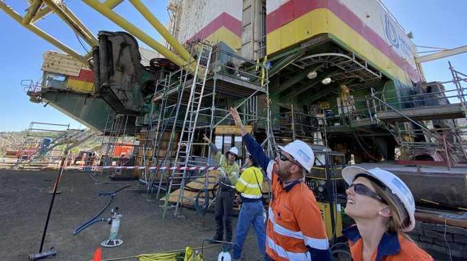 Dragline maintenance project supports 250 jobs across CQ