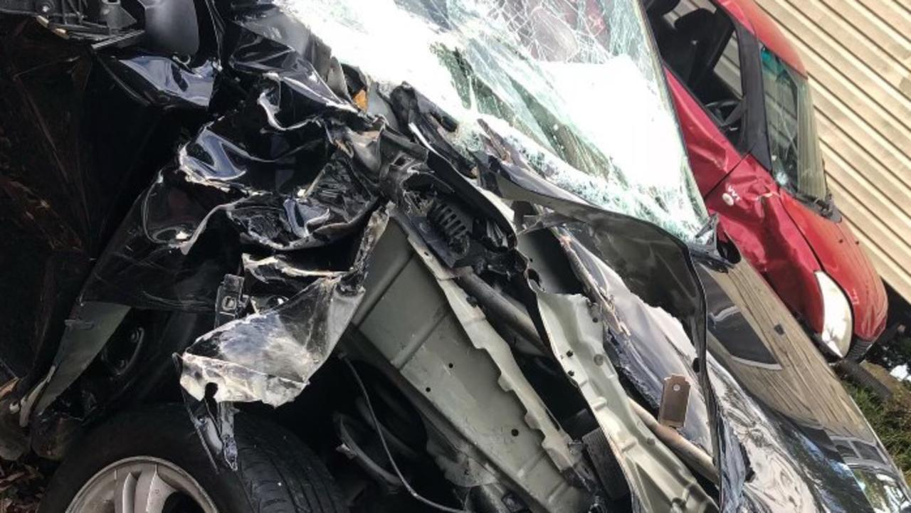 Sunshine Coast 25-year-old Eileen Browning was involved in a multi-vehicle crash on Kawana Way in March.