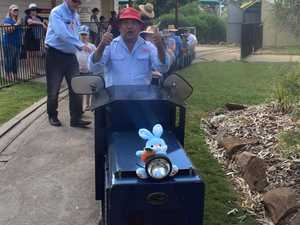 SUCCESS: Roma's tourism body gifts $37k mini train to council