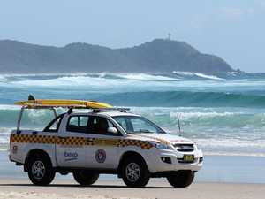 Surfers' heroic attempt to rescue man at 'notorious' beach