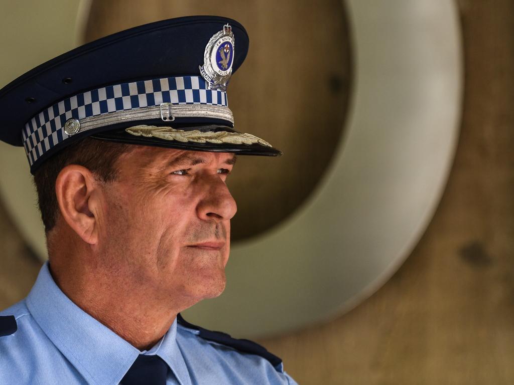 NSW Police Deputy Commissioner Dave Hudson. Picture: Brendan Esposito