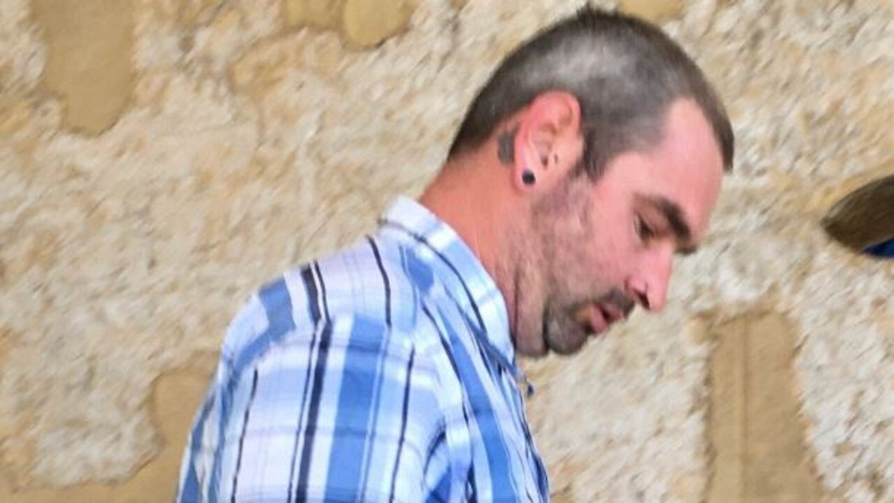 Liam Dibb leaves court after copping a heavy fine and licence disqualification over an act of road rage that already resulted in his car being written off.
