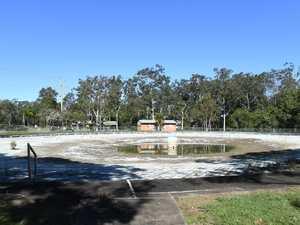Lake pool: Create a parkland or bulldoze it?