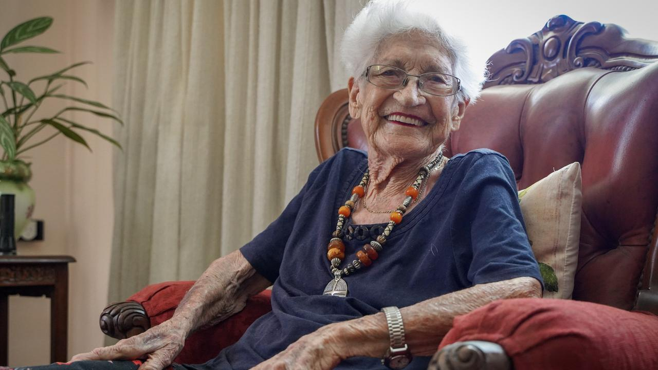 Shirley Williams, of Mount Pleasant, turns 97 on Wednesday, April 14, 2021. Picture: Heidi Petith