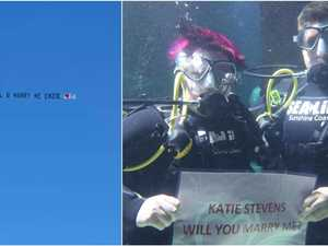 Love is in the air: Coast's quirkiest proposals