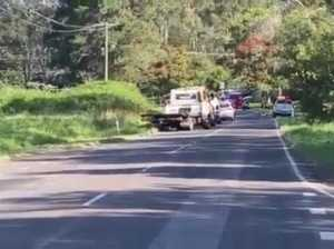 Serious crash at Glenview