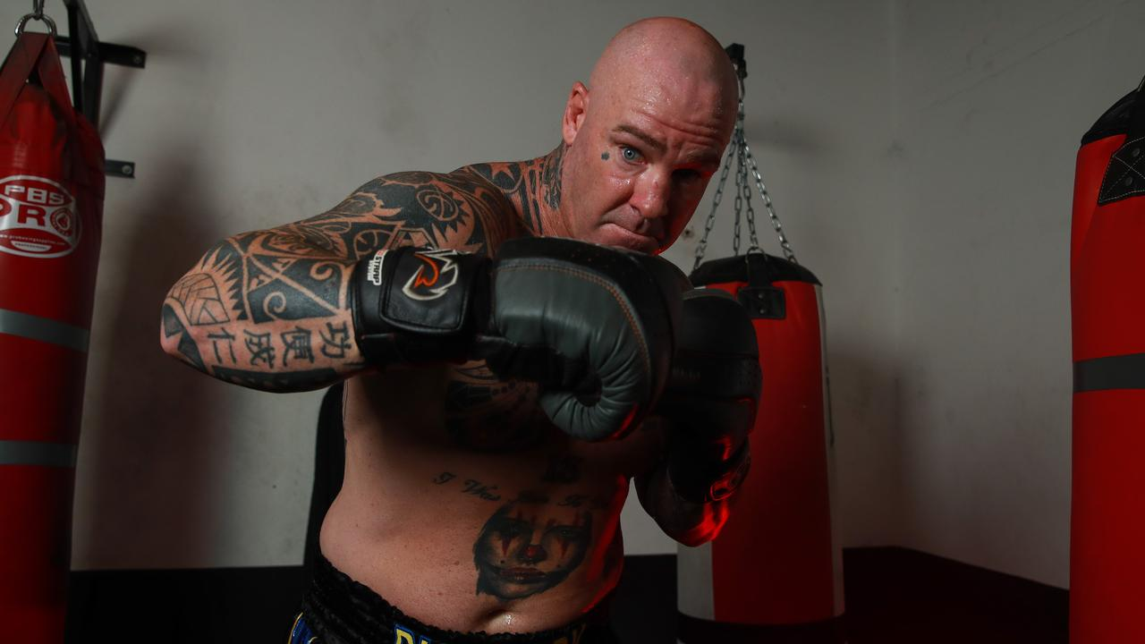 Former world heavyweight champion Lucas Browne has vowed to put Gallen's lights out. Picture: Justin Lloyd