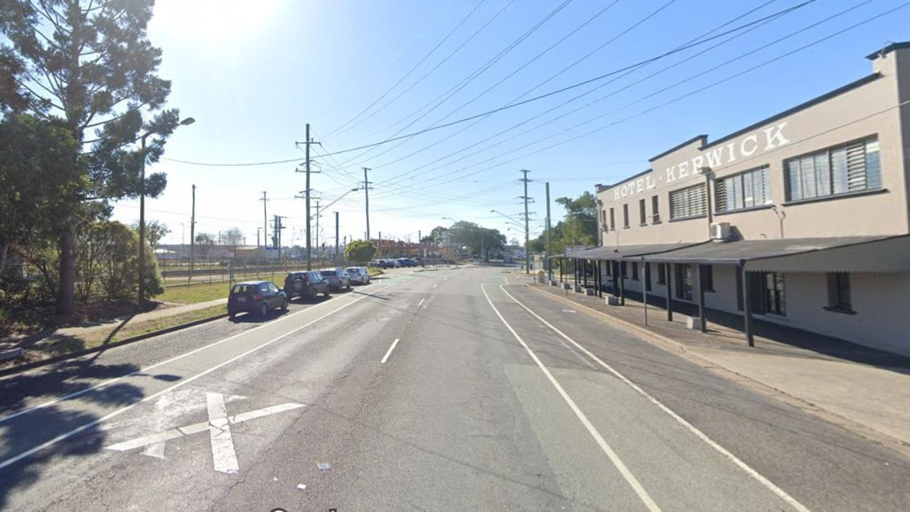 The stretch between Brisbane Rd, Redbank, between Bridge St and Mine St, has been closed to eastbound traffic.Â