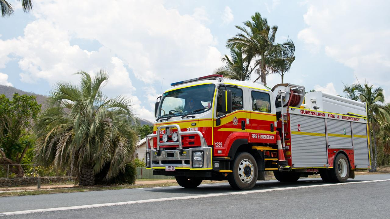 Queensland Fire and Emergency Services attended the scene. FILE PHOTO