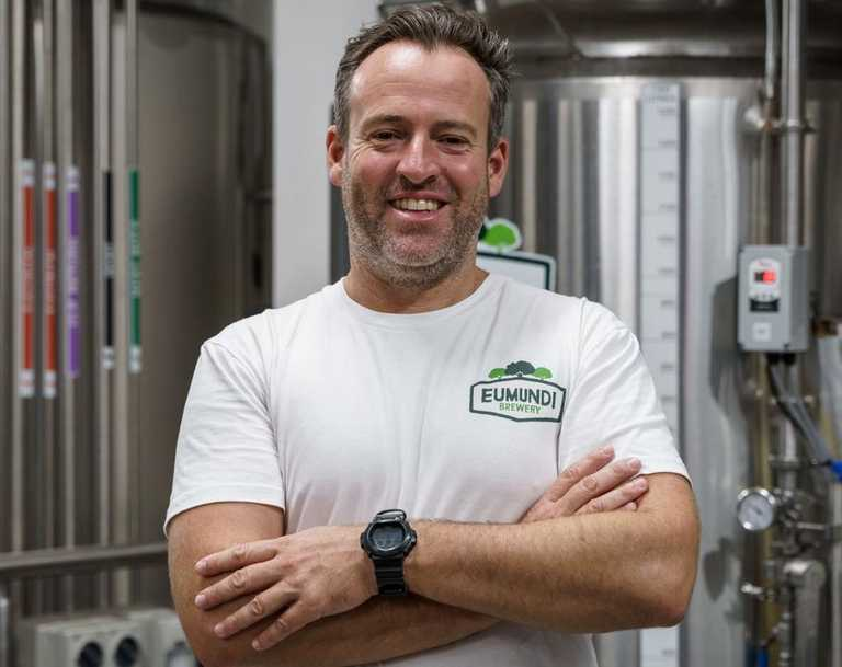 Eumundi Brewery head brewer Chris Sheehan is keen for the Coast to answer their latest challenge.