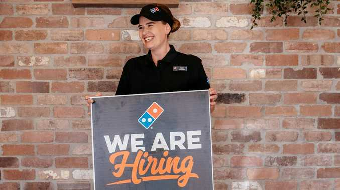Hiring frenzy: 20+ jobs on offer at Rocky Domino's stores